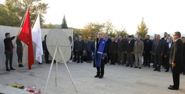 10 Kasım Atatürk'ü Anma Töreni Gerçekleştirildi.