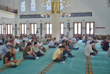 15 Temmuz Demokrasi ve Milli Birlik Günü Dolayısıyla İlahiyat Camisinde Mevlid-i Şerif Okutuldu.