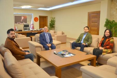 AK Parti Çanakkale İl Yönetiminden Rektör Prof. Dr. Sedat Murat'a Ziyaret