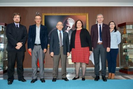Amerika Birleşik Devletleri İstanbul Başkansolosu'ndan Rektör Prof. Dr. Sedat Murat'a Ziyaret