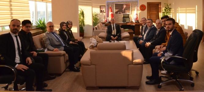 Batı Trakya Türkleri Dayanışma Derneği'nden ÇOMÜ Rektörü Prof. Dr. Sedat Murat'a Ziyaret