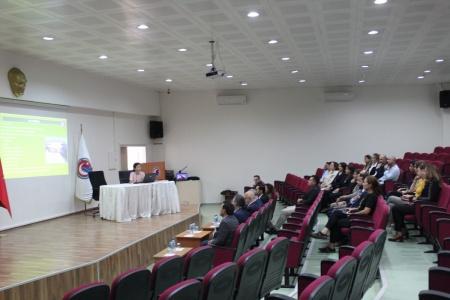 Bayramiç MYO Akademik Kurul Toplantısı Rektör Prof. Dr. Sedat Murat'ın Katılımıyla Gerçekleşti