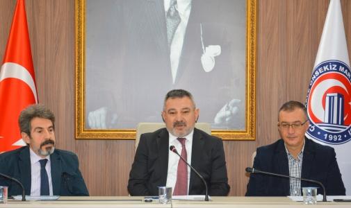 Bölüm Başkanları Toplantısının 5.'si Gerçekleşti