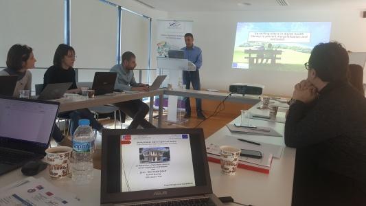 ÇOMÜ'nün Kabul Edilen AB Projesinin İlk Toplantısı Atina'da Yapıldı