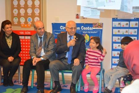 ÇOMÜ Rektörü Prof. Dr. Sedat Murat ÇABAÇAM'ı Ziyaret Etti