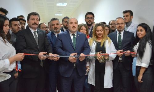 Ezine MYO Duyusal Analiz Laboratuvarı, Sanayi ve Teknoloji Bakanı Mustafa Varank'ın Katılımıyla Açıldı