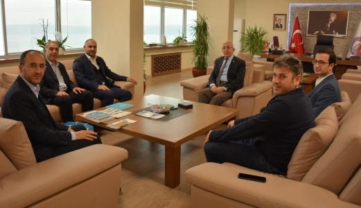 UDEF Genel Başkanı Mehmet Ali Bolat'tan Rektör Prof. Dr. Sedat Murat'a Ziyaret