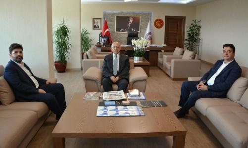 Vali Yardımcısı Abdullah Köklü'den Rektör Prof. Dr. Sedat Murat'a Ziyaret