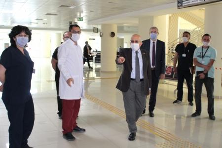 ÇOMÜ Hastanesi, Yeni Normalleşme Sürecine Hazır