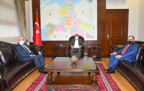 ÇOMÜ Rektörü Prof. Dr. Sedat Murat Balıkesir'de Bir Dizi Ziyaret Gerçekleştirdi
