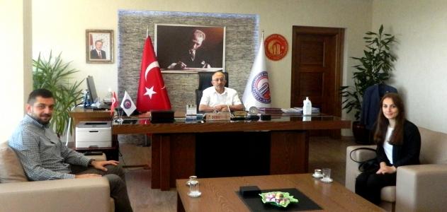 Dünya Ahıska Türkleri Birliği'nden ÇOMÜ Rektörü Prof. Dr. Sedat Murat'a Ziyaret