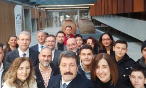 Müzede Selfie Günü, Troya Müzesi'nde Gerçekleştirildi