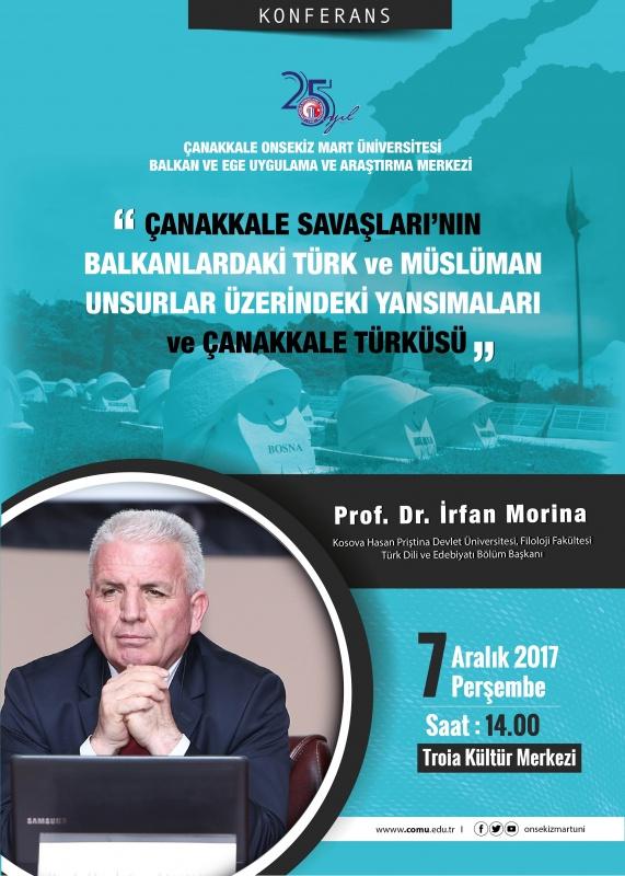 Çanakkale Savaşlarının Balkanlardaki Türk ve Müslüman Unsurlar Üzerindeki Yansımaları ve Çanakkale Türküsü