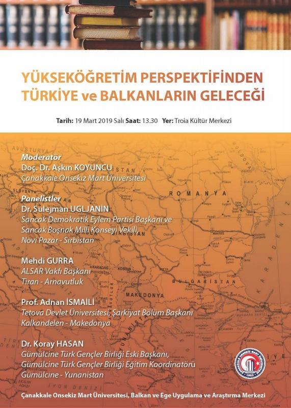 Yükseköğretim Perspektifinden Türkiye ve Balkanların Geleceği