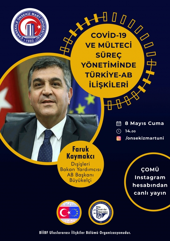 COVİD-19 ve Mülteci Süreç Yönetiminde Türkiye - AB İlişkileri