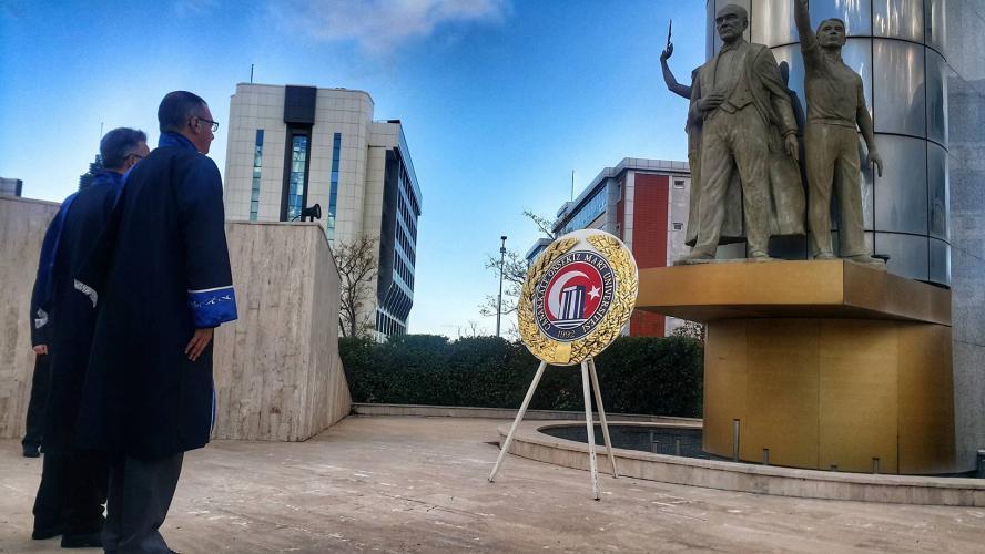 10 Kasım Atatürk'ü Anma Töreni Gerçekleştirildi