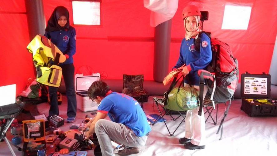 Afet Eğitim Topluluğu Yönetim Kurulundan Çanakkale UMKE'ye Ziyaret