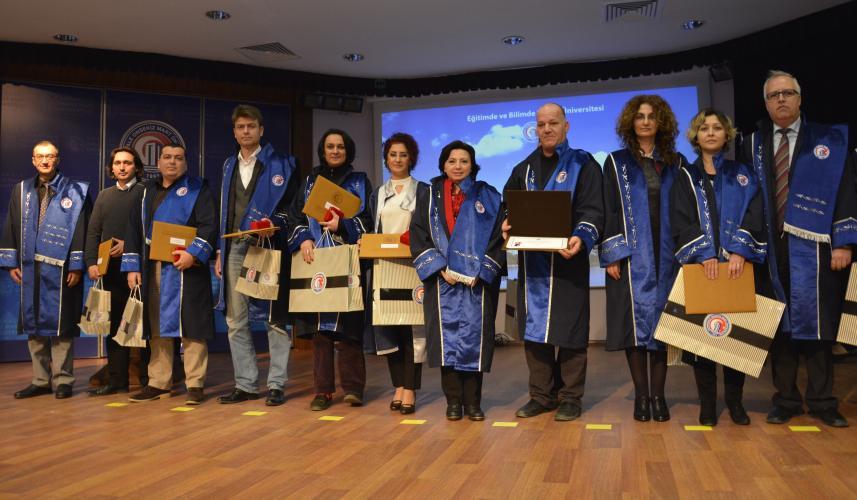 Akademik Teşvik Ödeneği Onur Töreni Gerçekleştirildi