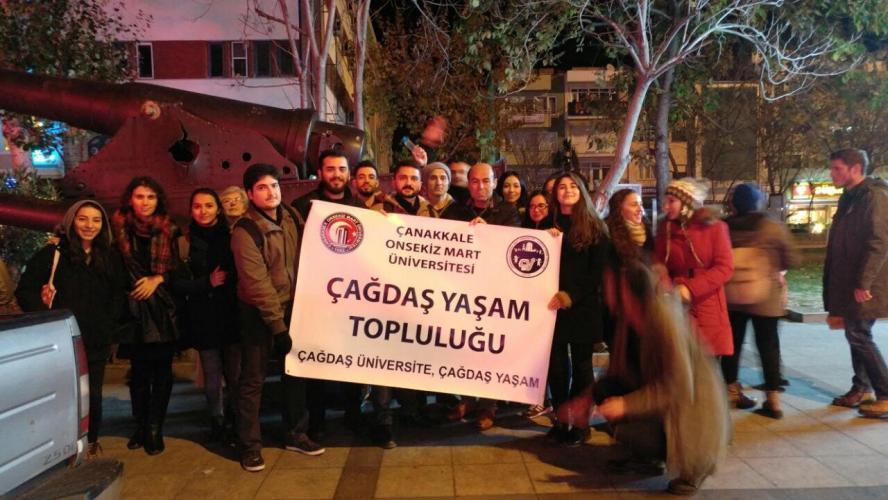 Çağdaş Yaşam Topluluğu'ndan Ankara Ziyareti