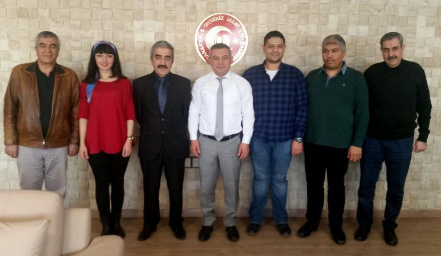 Çanakkale İli Kadastro Müdürlüğünden Rektör Acer'e Ziyaret