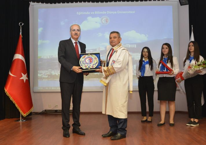 Çanakkale Onsekiz Mart Üniversitesi 2016-2017 Akademik Yıl Açılış Töreni Gerçekleşti