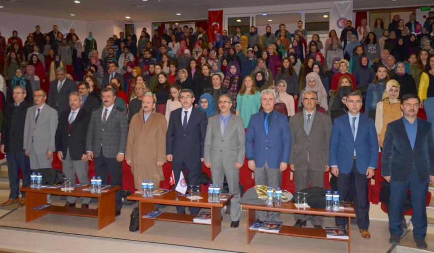 """ÇOMÜ'de """"Vefa Günleri Mehmet Akif Ersoy'un Hayatı"""" Konulu Konferans Düzenlendi"""