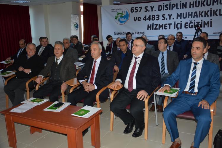 ÇOMÜ'de Disiplin Hükümleri ve Muhakkiklik Hizmet İçi Eğitimi Eğitim Semineri Yapıldı