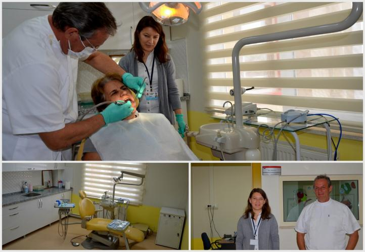 ÇOMÜ Diş Polikliniği Yeni Hizmet Yerine Taşındı