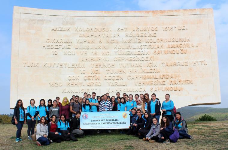 ÇSATT Kuzey Arazi'deki Şehitlikleri Ziyaret Etti