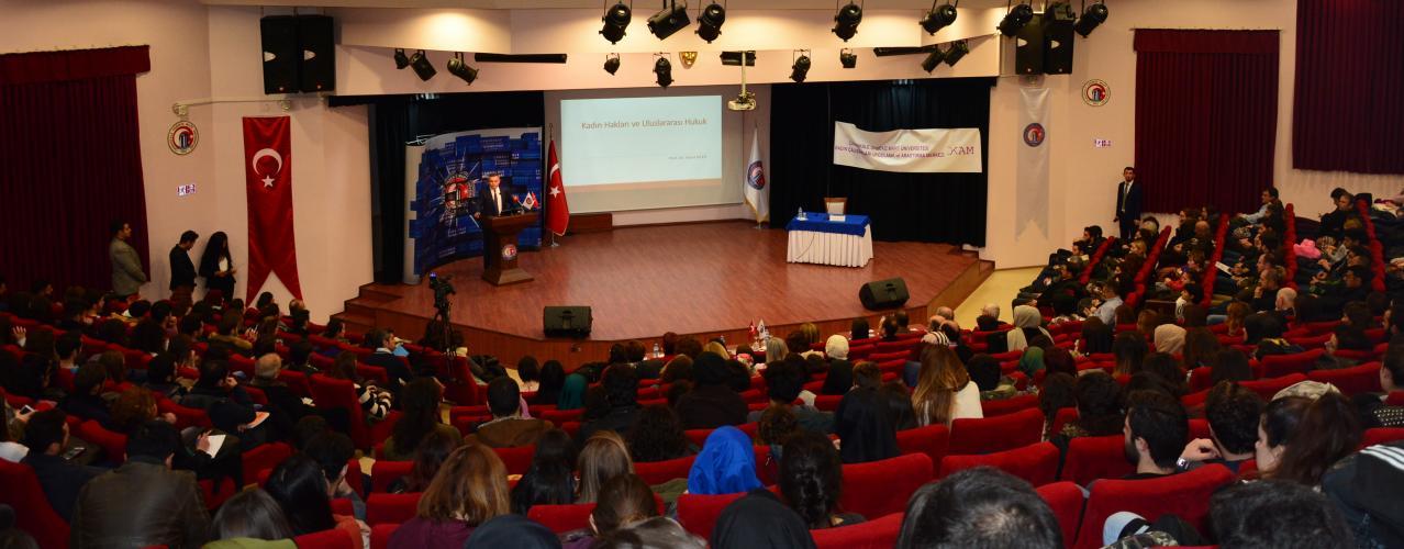 Kadın Hakları ve Uluslararası Hukuk Konferansı Gerçekleştirildi