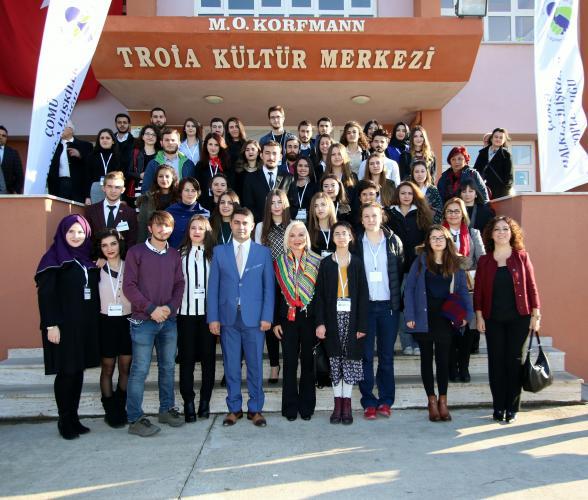 OPET'in Kurucusu Nurten Öztürk ÇOMÜ'de Konferans Verdi