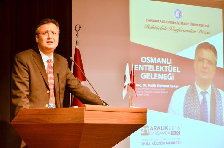 """""""Osmanlı Entelektüel Geleneği"""" Konulu Konferans Gerçekleşti"""