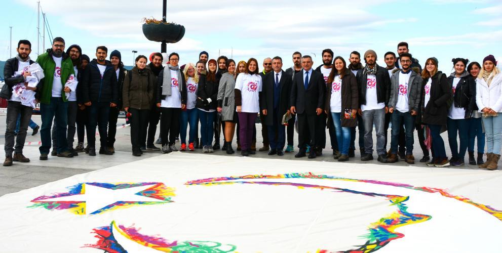 Rektör Acer, 29 Ekim Cumhuriyet Bayramı Kutlama Törenlerine Katıldı