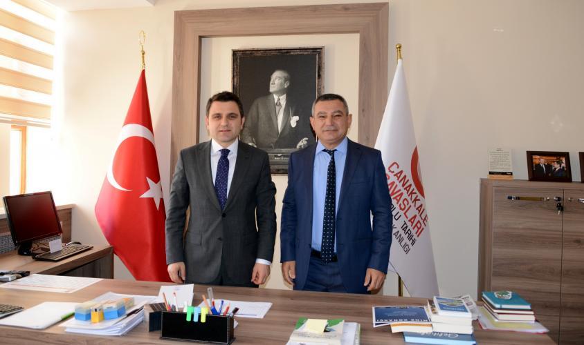 Rektör Acer'den Gelibolu Tarihi Alan Başkanı Kaşdemir'e Ziyaret