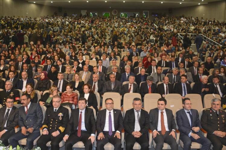 Rektör Prof. Dr. Yücel Acer 10 Kasım Törenlerine Katıldı