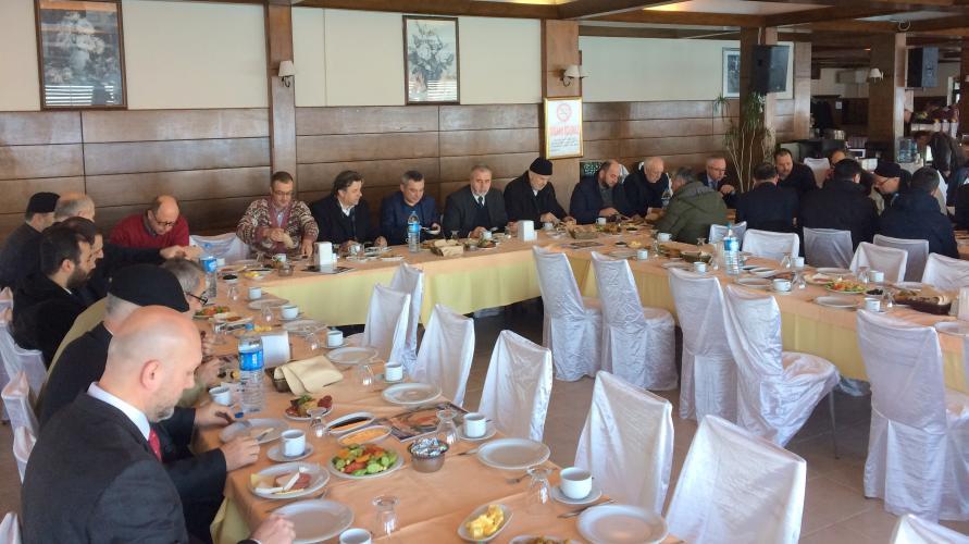 Rektör Prof. Dr. Yücel Acer, Balkan Ülkeleri Temsilcileriyle Kahvaltıda Bir Araya Geldi