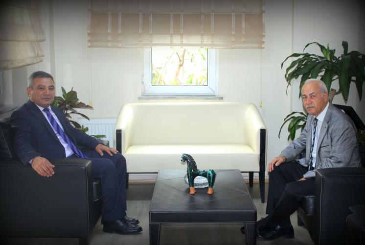 Rektör Prof. Dr. Yücel Acer'den İl Defterdarına Ziyaret
