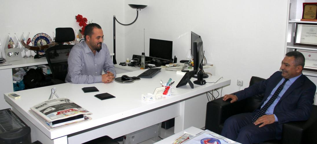 Rektör Prof. Dr. Yücel Acer'den Yerel Basın Mensuplarına Ziyaret