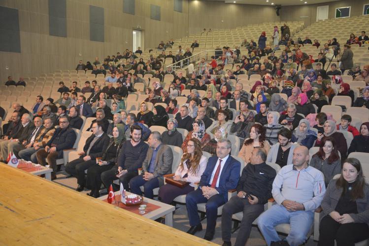 Rektör Prof. Dr. Yücel Acer, Mevlit Kandili Programına Katıldı