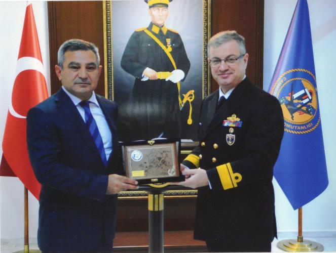 Rektör Prof. Dr. Yücel Acer'den Boğaz ve Garnizon Komutanına Ziyaret