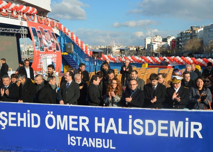 Şehit Ömer Halisdemir'in İsmi Arabalı Vapura Verildi