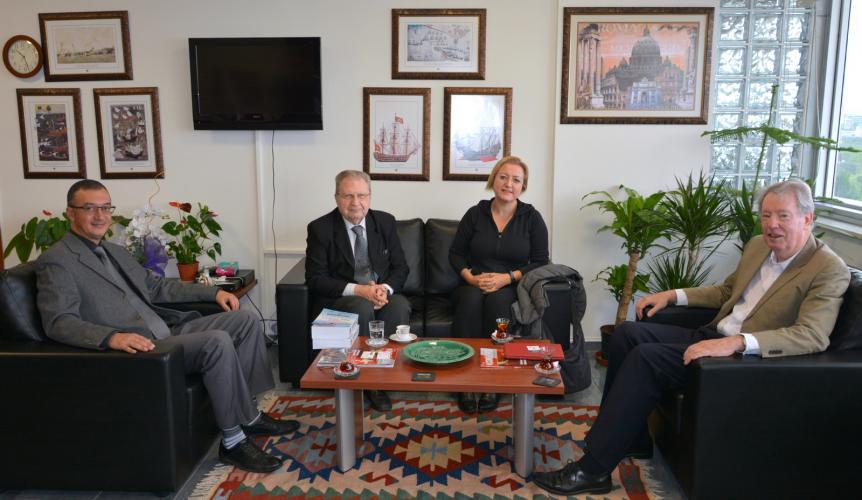 Sydney Heyetinden Rektör Vekili Prof. Dr. Süha Özden'e Ziyaret