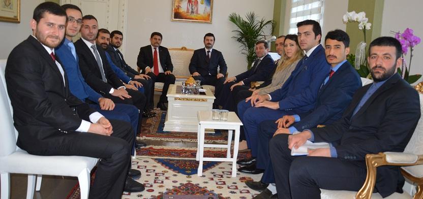 Tasavvuf Topluluğu Vali Orhan Tavlı'yı Ziyaret Etti