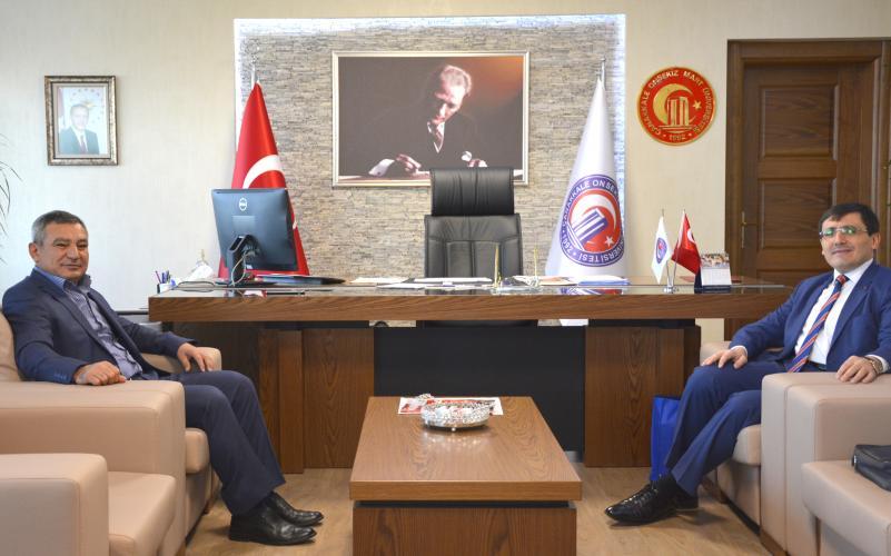 TÜBİTAK Başkan Yardımcısı Prof. Dr. Erol Arcaklıoğlu, ÇOMÜ'de Sunum Gerçekleştirdi