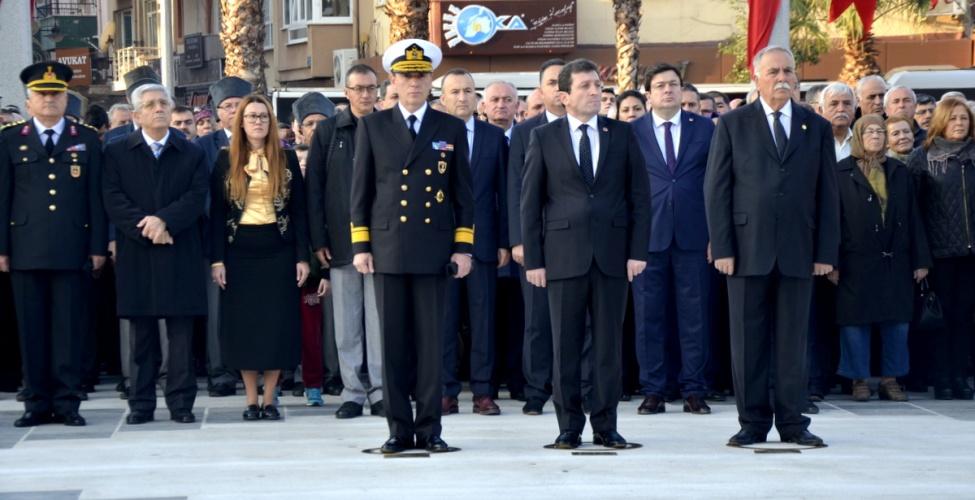 10 Kasım Atatürk'ü Anma Etkinlikleri Gerçekleşti