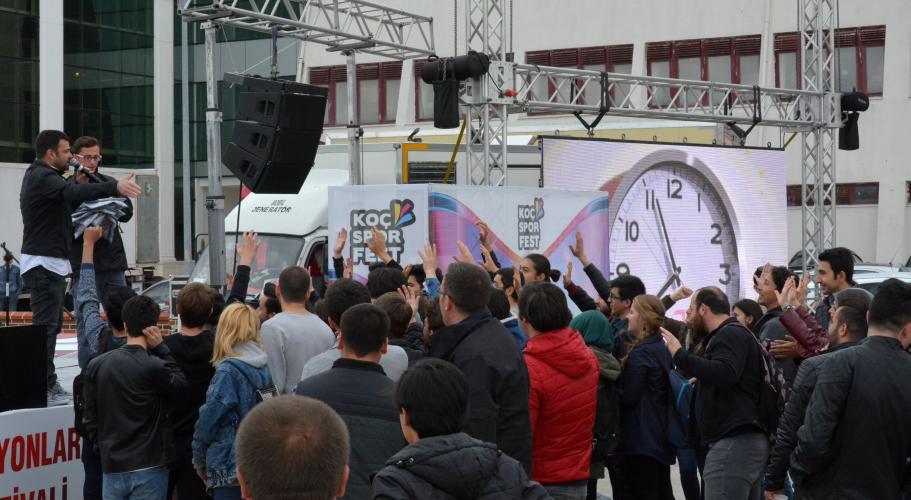 14. Türkiye Koç Spor Fest ÇOMÜ'deydi