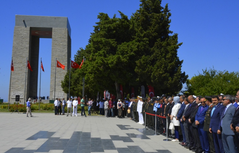 15 Temmuz Şehitleri, Abide'de Düzenlenen Törenle Anıldı