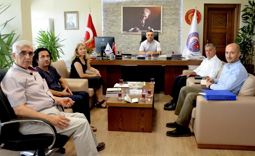 2018 Troia Yılı Etkinlikleri Heyetinden Rektör Prof. Dr. Yücel Acer'e Ziyaret