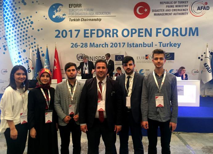Afet Eğitim Topluluğu, Afet Risk Azaltımı Avrupa Forumuna Katıldı