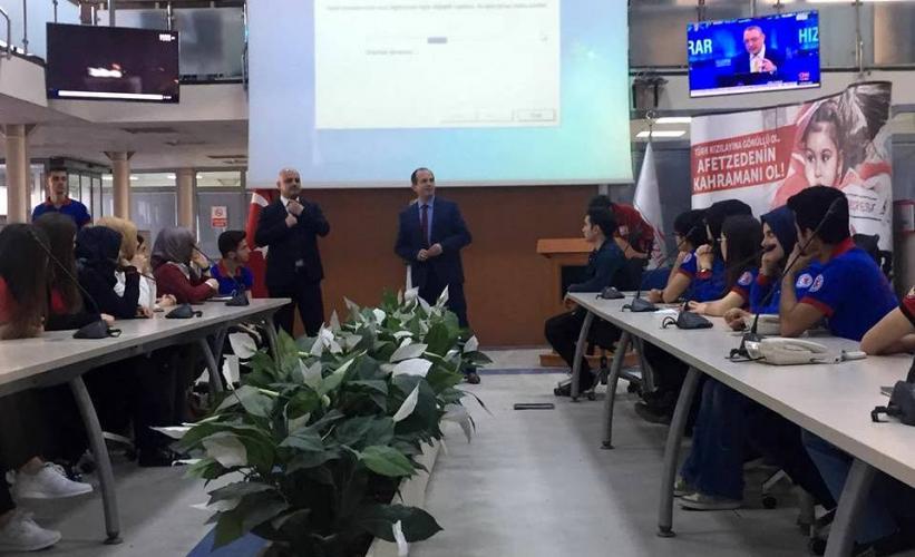 Afet Eğitim Topluluğu, Türk Kızılay'ı AFOM'u Ziyaret Etti